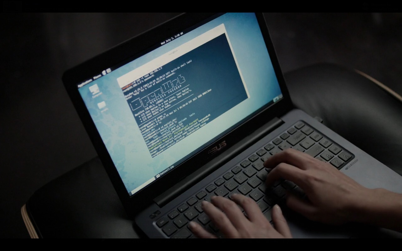 Asus Notebook - Mr. Robot TV Show Product Placement