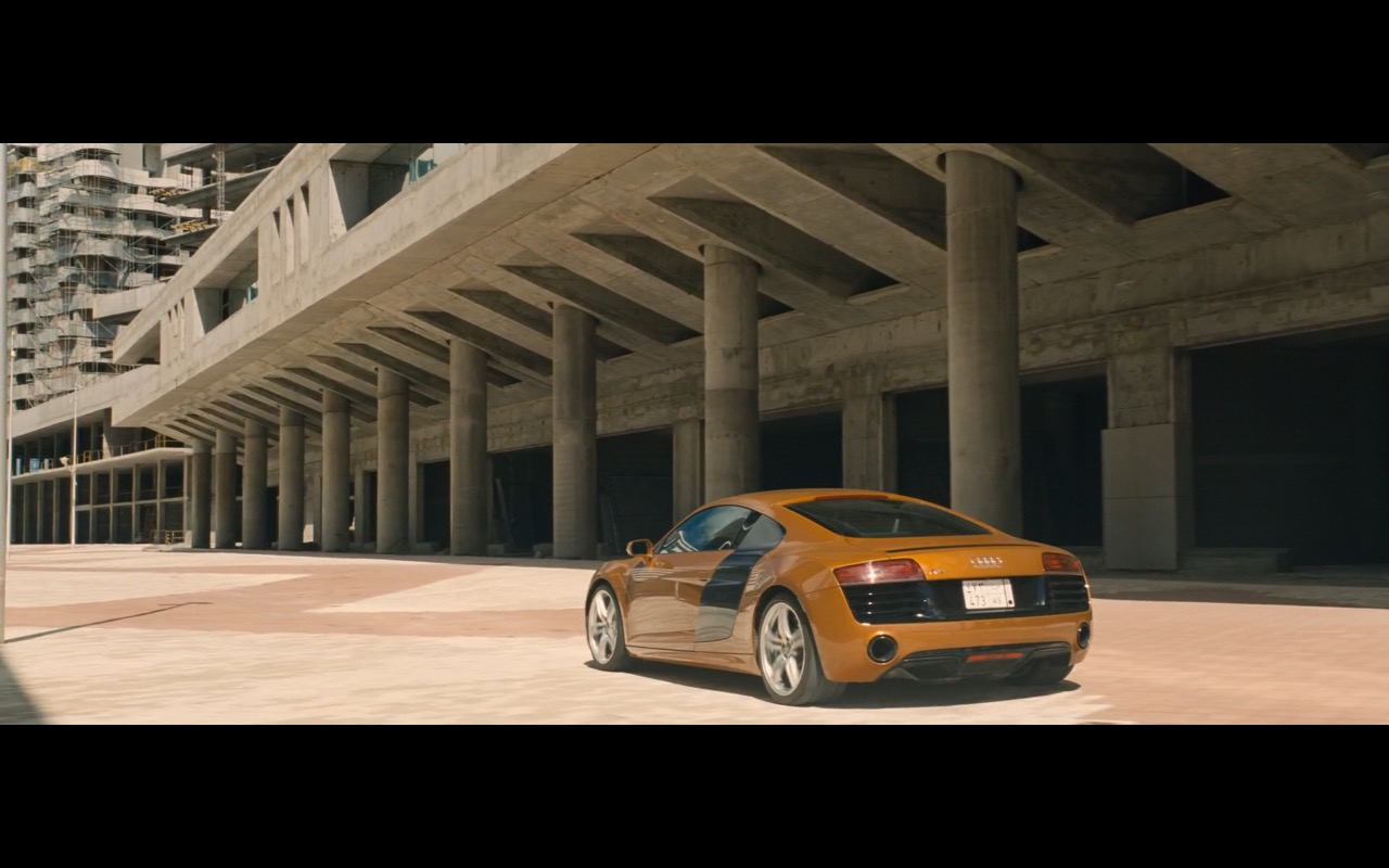 Audi R8 – A Hologram for the King (2016) - Movie Product Placement