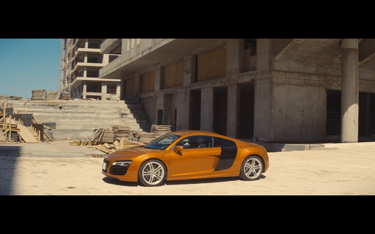 Audi R8 – A Hologram for the King (2016) Movie Product Placement