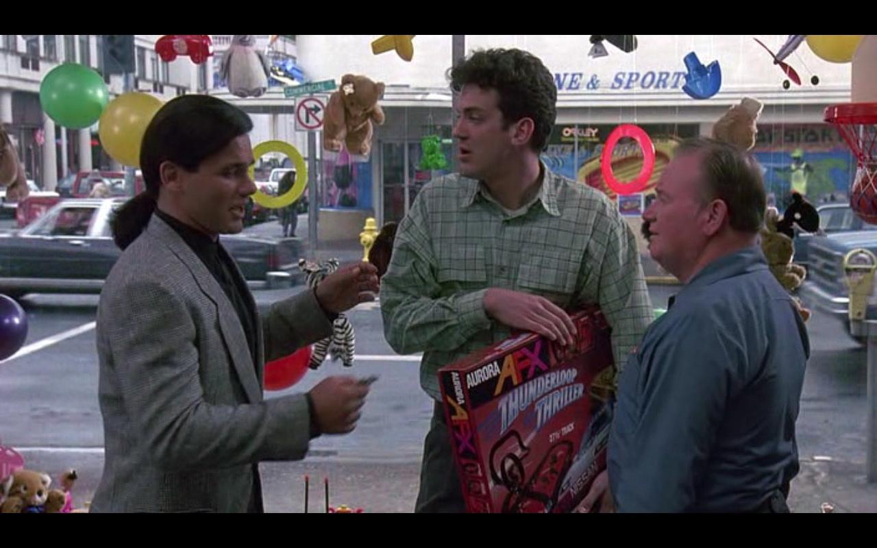Aurora AFX - Kindergarten Cop (1990) Movie Product Placement