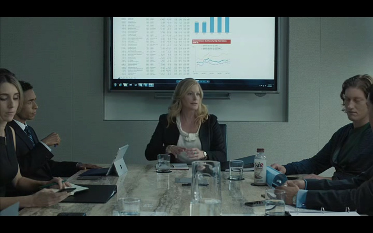 Bai And Microsoft Surface Tablet - Equity (2016) Movie Product Placement