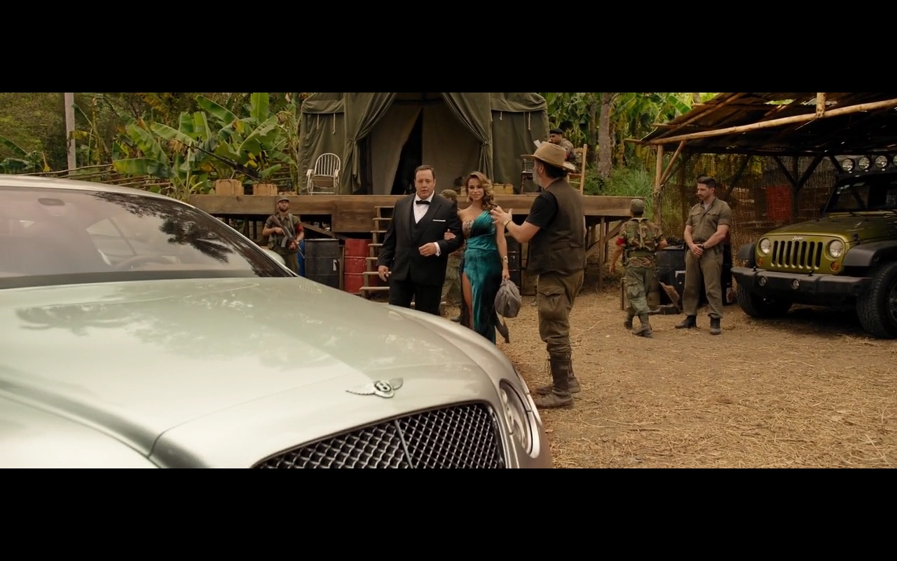 Bentley Continental - True Memoirs of an International Assassin (2016) Movie Product Placement