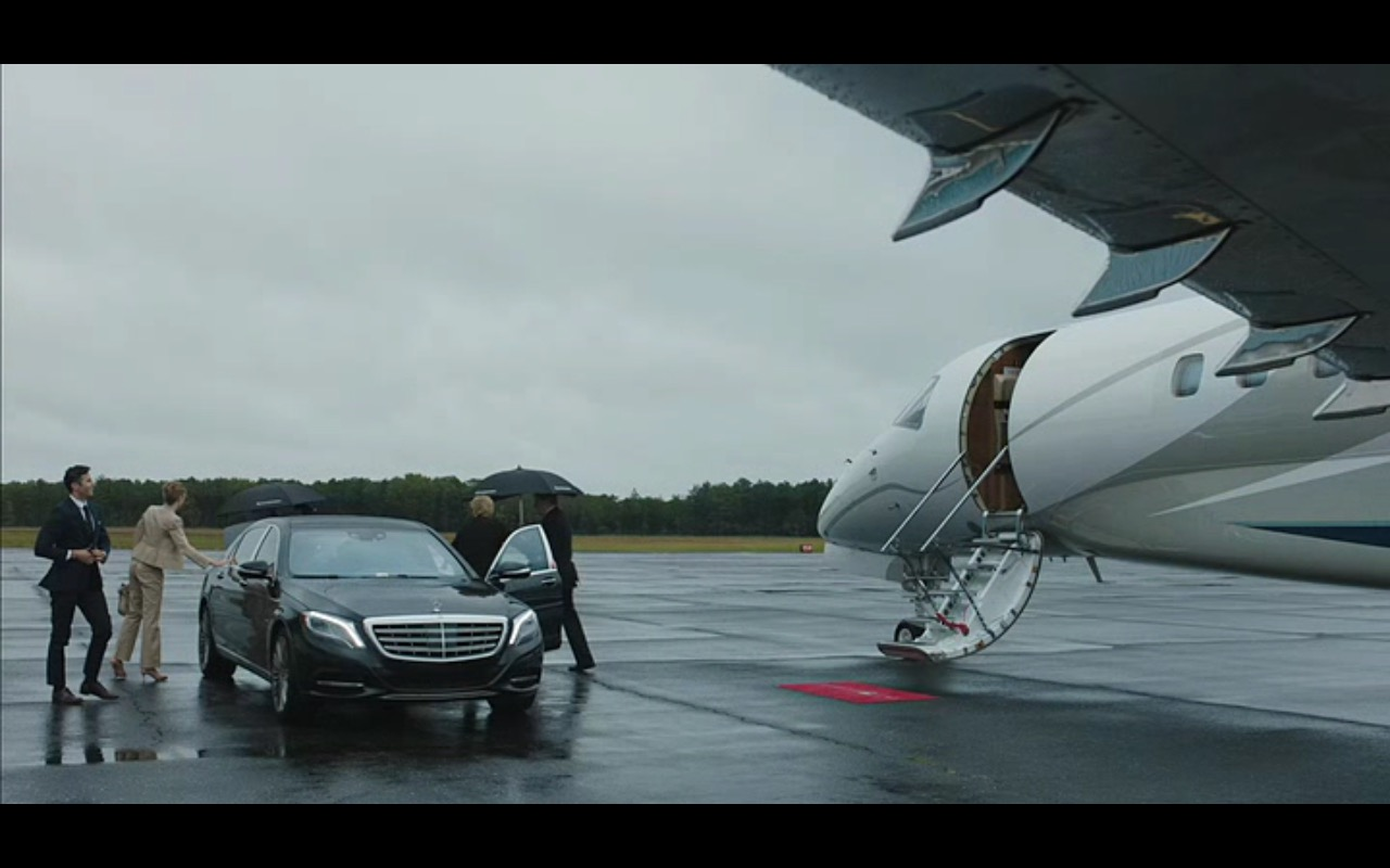 Black Mercedes-Benz S-Class (W222) – Equity (2016) Movie Product Placement