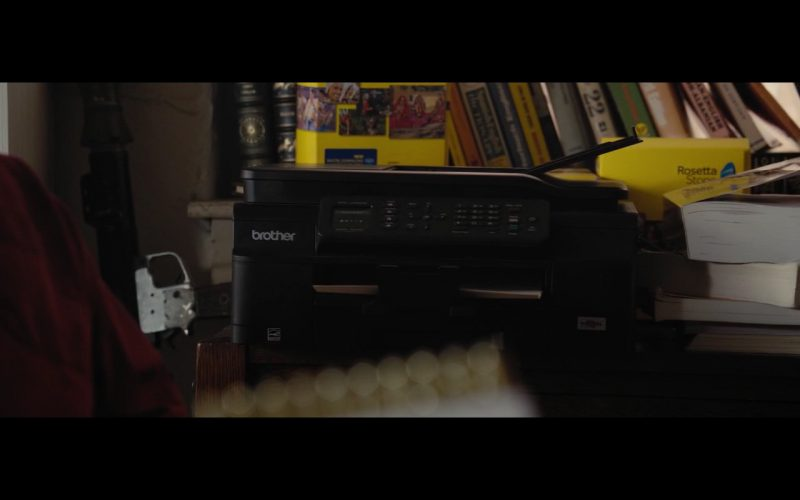 Brother Printer - True Memoirs of an International Assassin (2016) Movie Product Placement