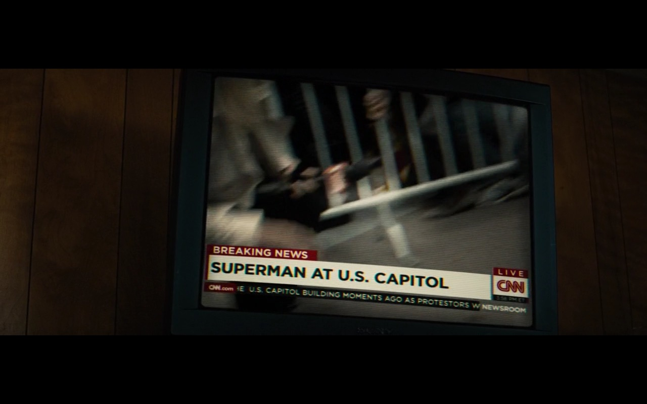 CNN And Sony TV - Batman v Superman: Dawn of Justice (2016) Movie Product Placement