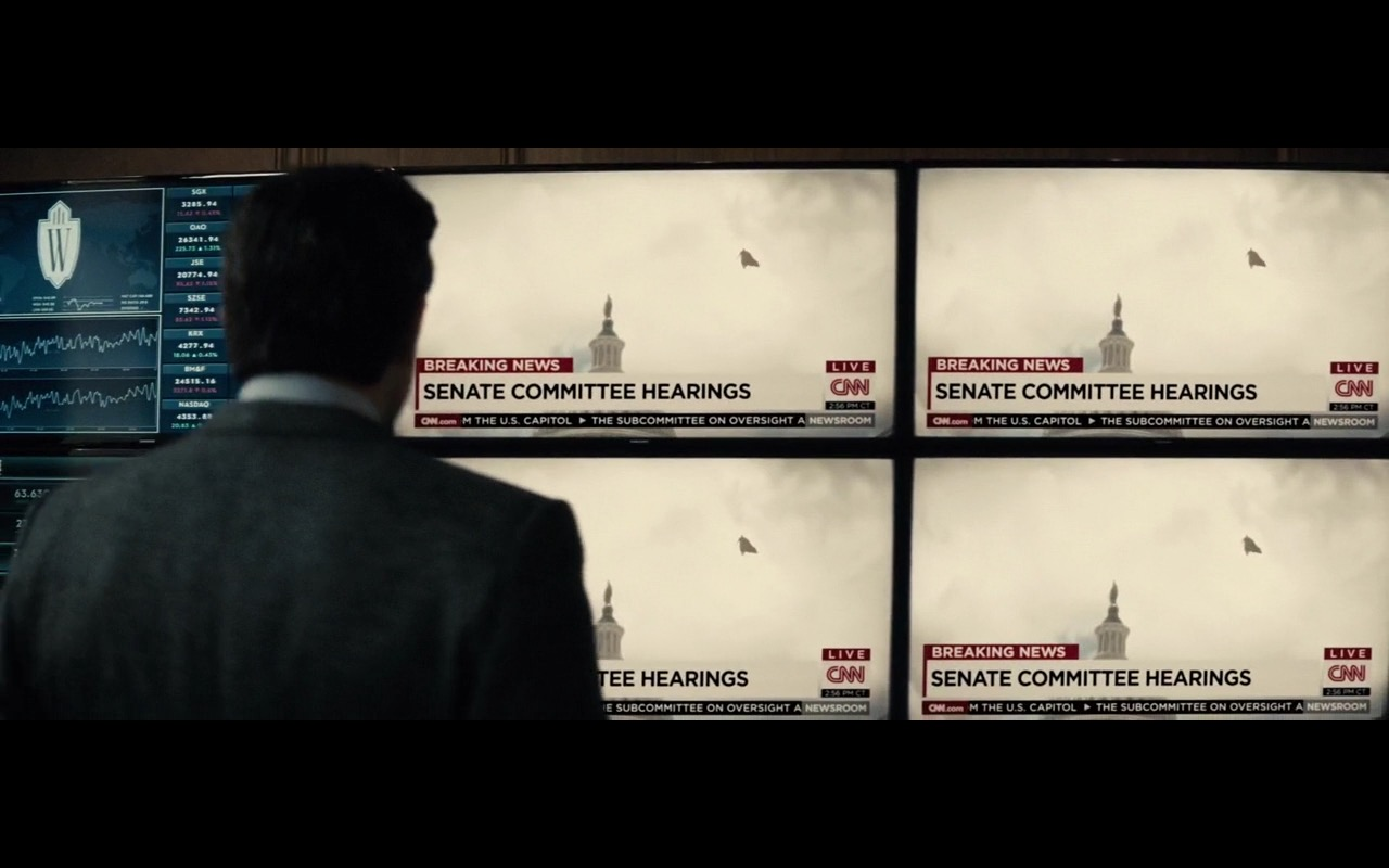 CNN - Batman v Superman: Dawn of Justice (2016) Movie Product Placement