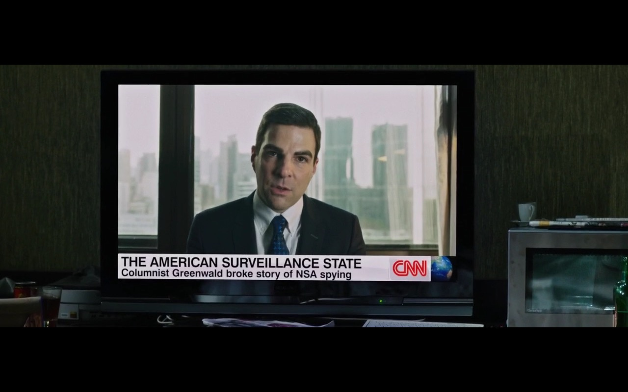CNN - Snowden (2016) Movie Product Placement