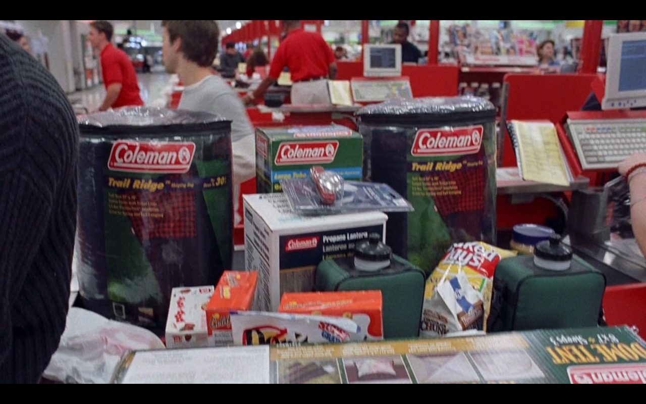 Coleman – Road Trip (2000) Movie Product Placement