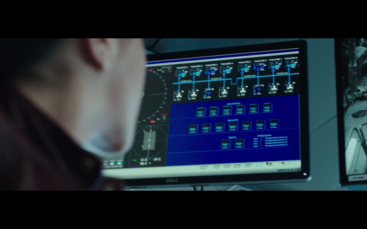 Dell Monitors – Deepwater Horizon (2016) - Movie Product Placement