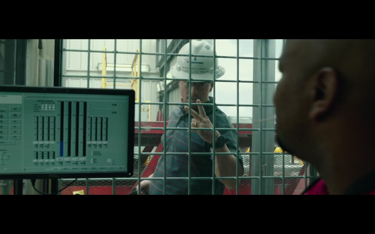 Dell Monitors – Deepwater Horizon (2016) Movie Product Placement