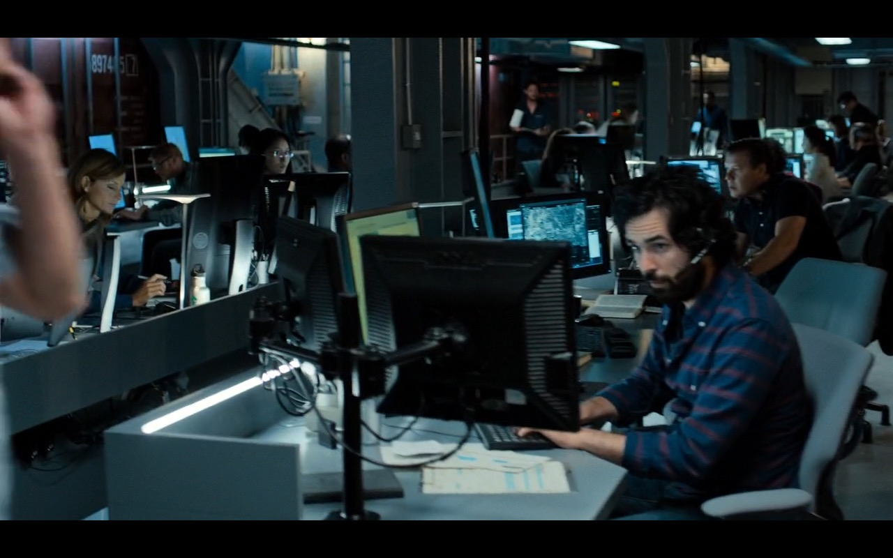 Dell Monitors – Inferno (2016) - Movie Product Placement
