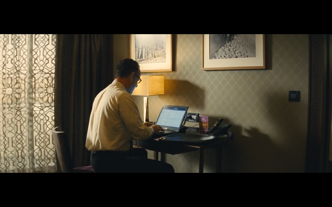 Dell Notebook – A Hologram for the King (2016) Movie Product Placement