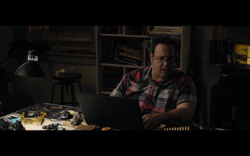 Dell Notebook - True Memoirs of an International Assassin (2016) Movie Product Placement