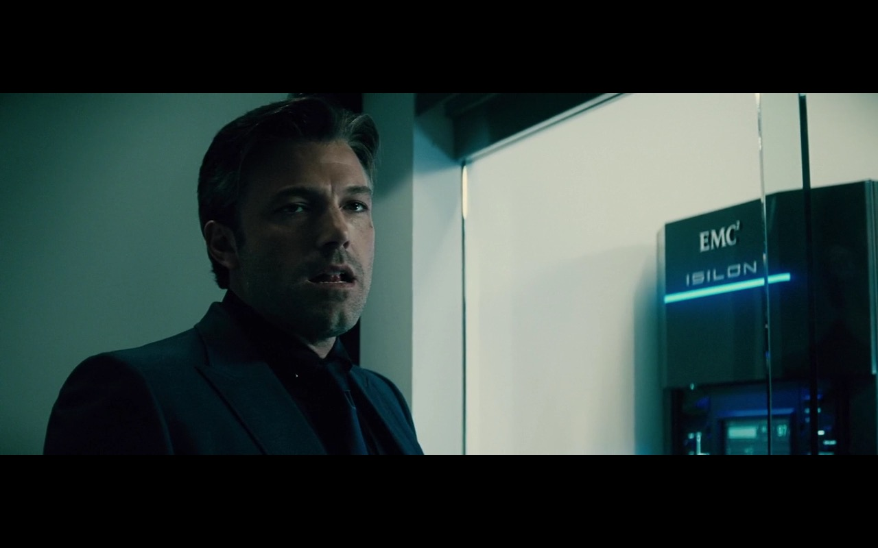 EMC Isilon – Batman v Superman: Dawn of Justice (2016) Movie Product Placement