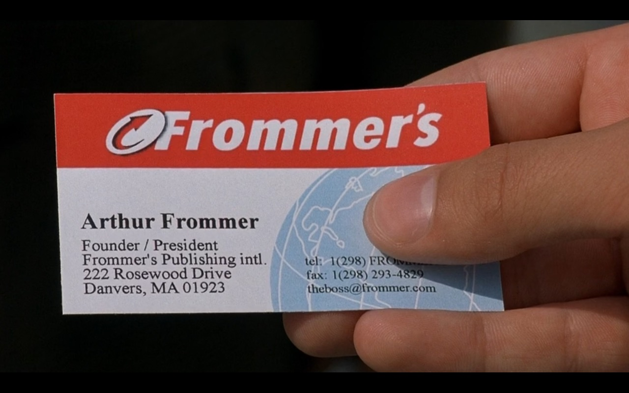 Frommer's - EuroTrip (2004) Movie Product Placement