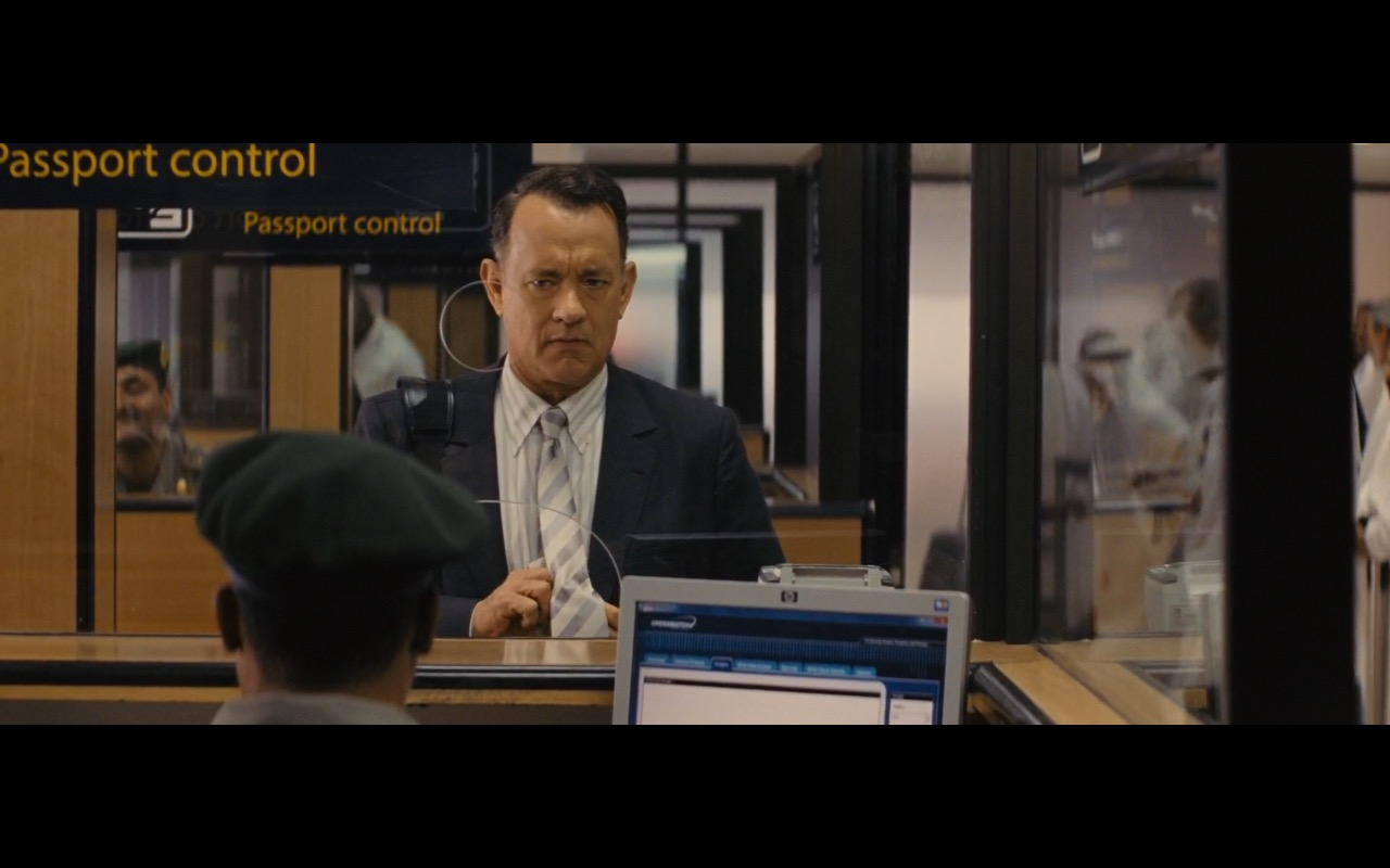 HP Monitor - A Hologram for the King (2016) Movie Product Placement