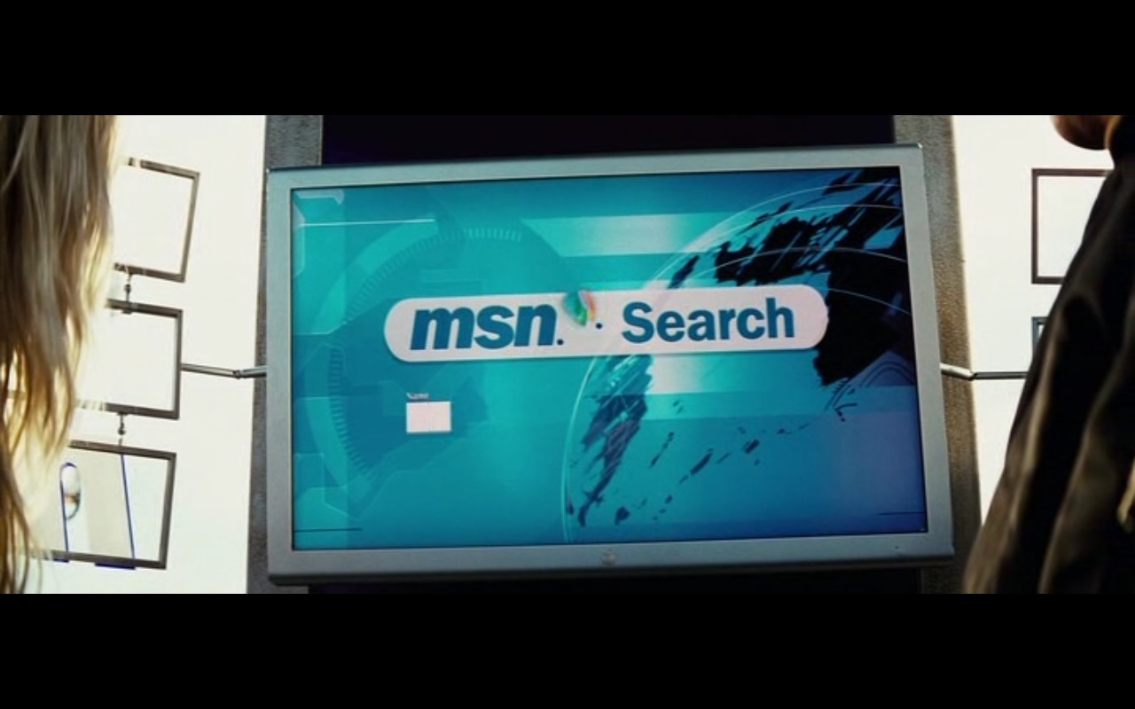 MSN (Microsoft) - The Island (2005) Movie Product Placement