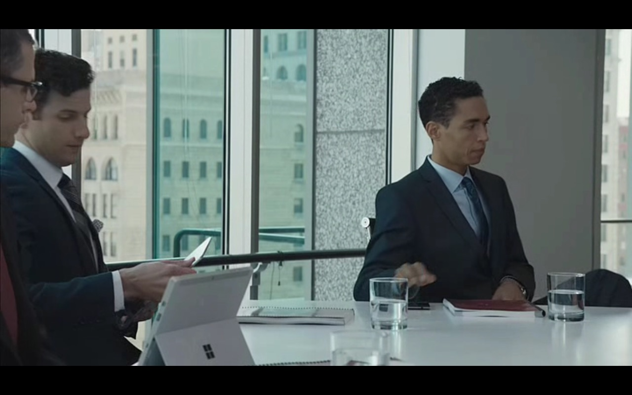 Microsoft Surface Tablet – Equity (2016) Movie Product Placement