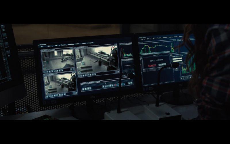 NOC Monitors – Morgan