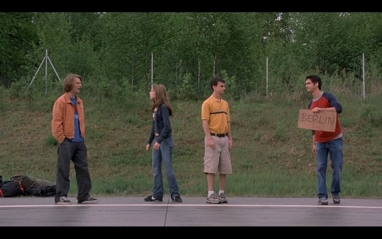 Nike Sneakers – EuroTrip (2004) Movie Product Placement
