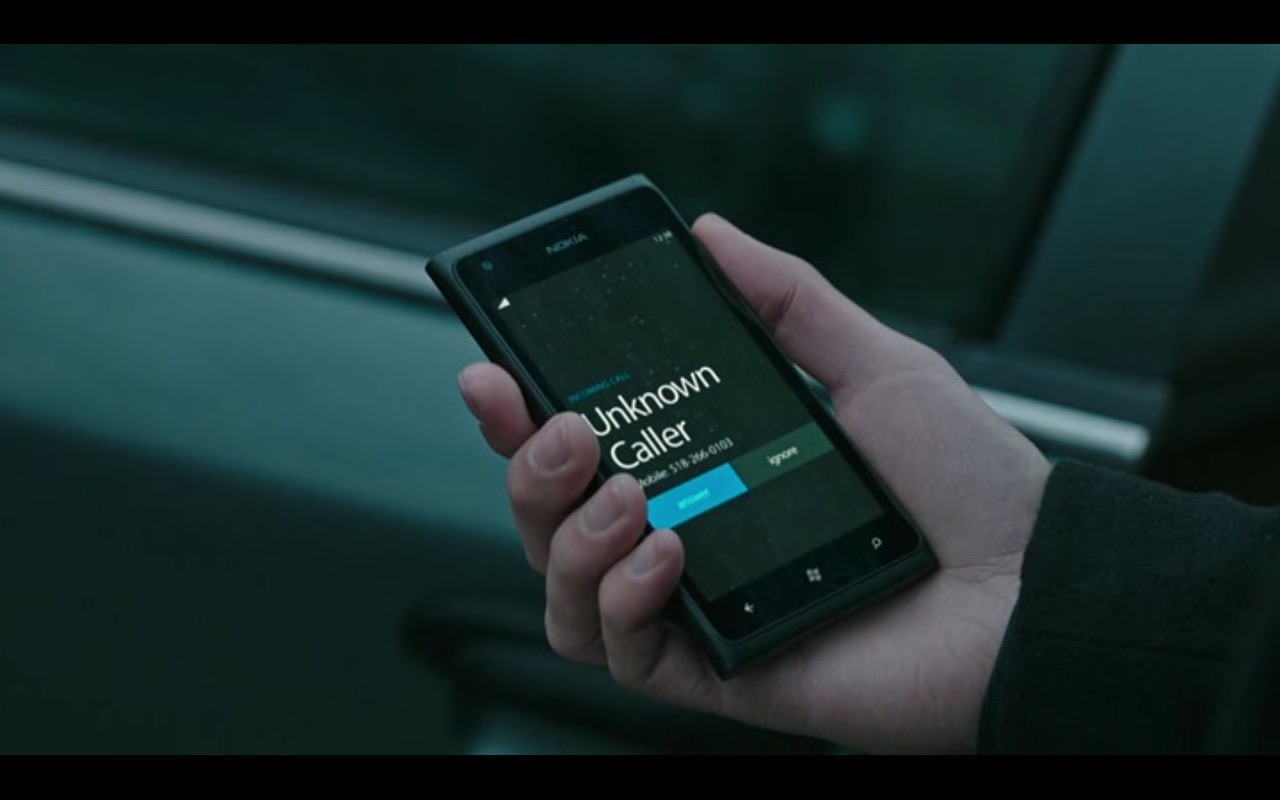 Nokia Smartphone – Now You See Me 2 (2016) Movie Product Placement
