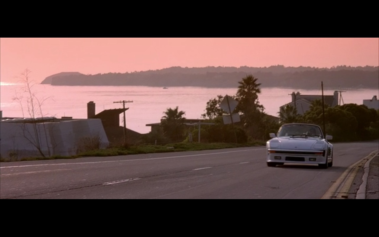 Porsche 911  - True Romance (1993) Movie Product Placement