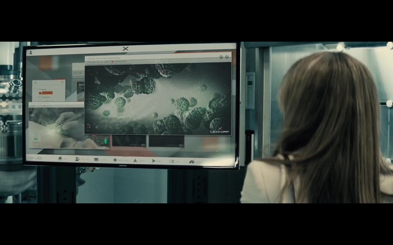Samsung TV – Batman v Superman: Dawn of Justice (2016) Movie Product Placement