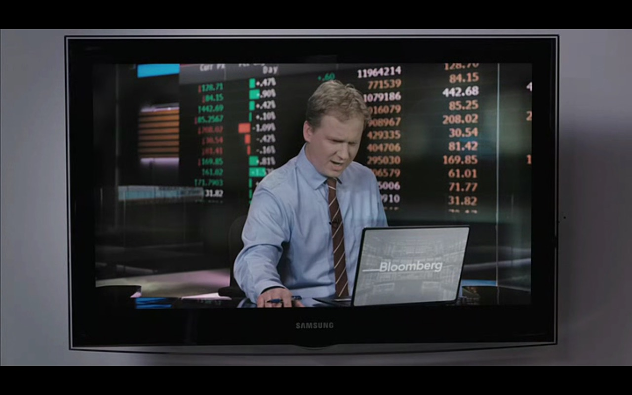 Samsung TV And Bloomberg News – Equity (2016) Movie Product Placement