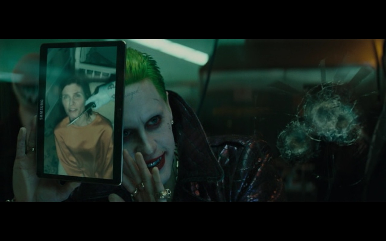 Samsung Tablet - Suicide Squad (2016) Movie Product Placement
