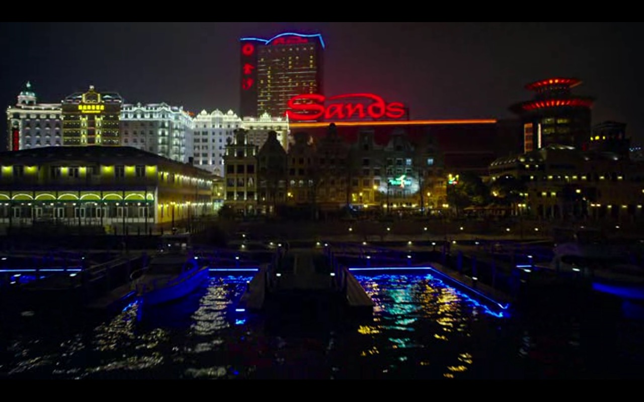 Sands Macao – Now You See Me 2 (2016) Movie Product Placement