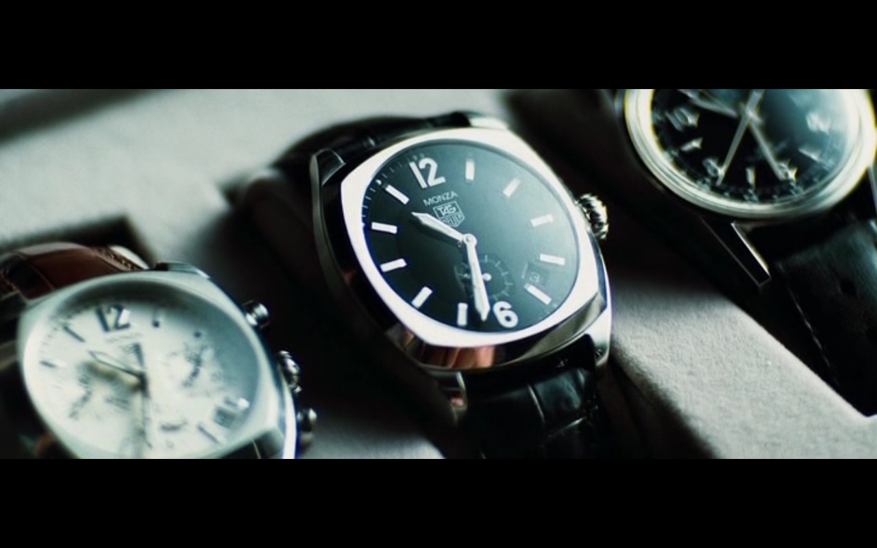 TAG Heuer Monza Watches in The Island (2005) - Movie Product Placement