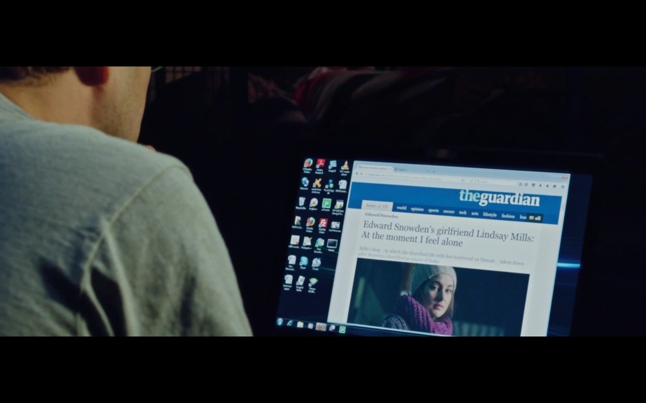 The Guardian - Snowden (2016) Movie Product Placement