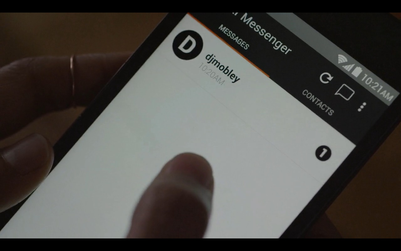 Wickr Messenger - Mr. Robot TV Show Product Placement