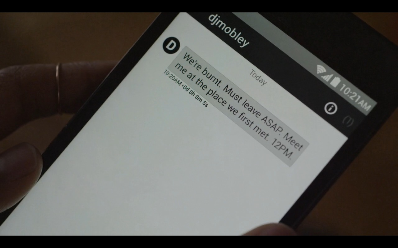 Wickr Messenger - Mr. Robot - TV Show Product Placement