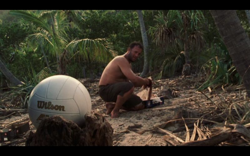 Wilson And Tom Hanks – Cast Away 2000 Movie (1)
