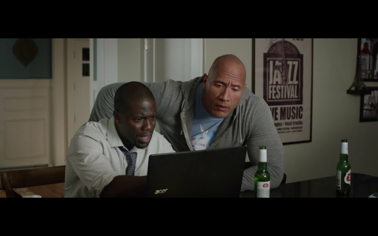 Acer Notebook - Central Intelligence (2016) Movie Product Placement
