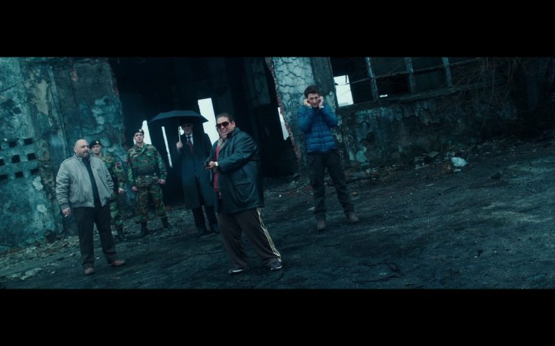 Adidas Men's Pants – War Dogs (2016) Movie Product Placement