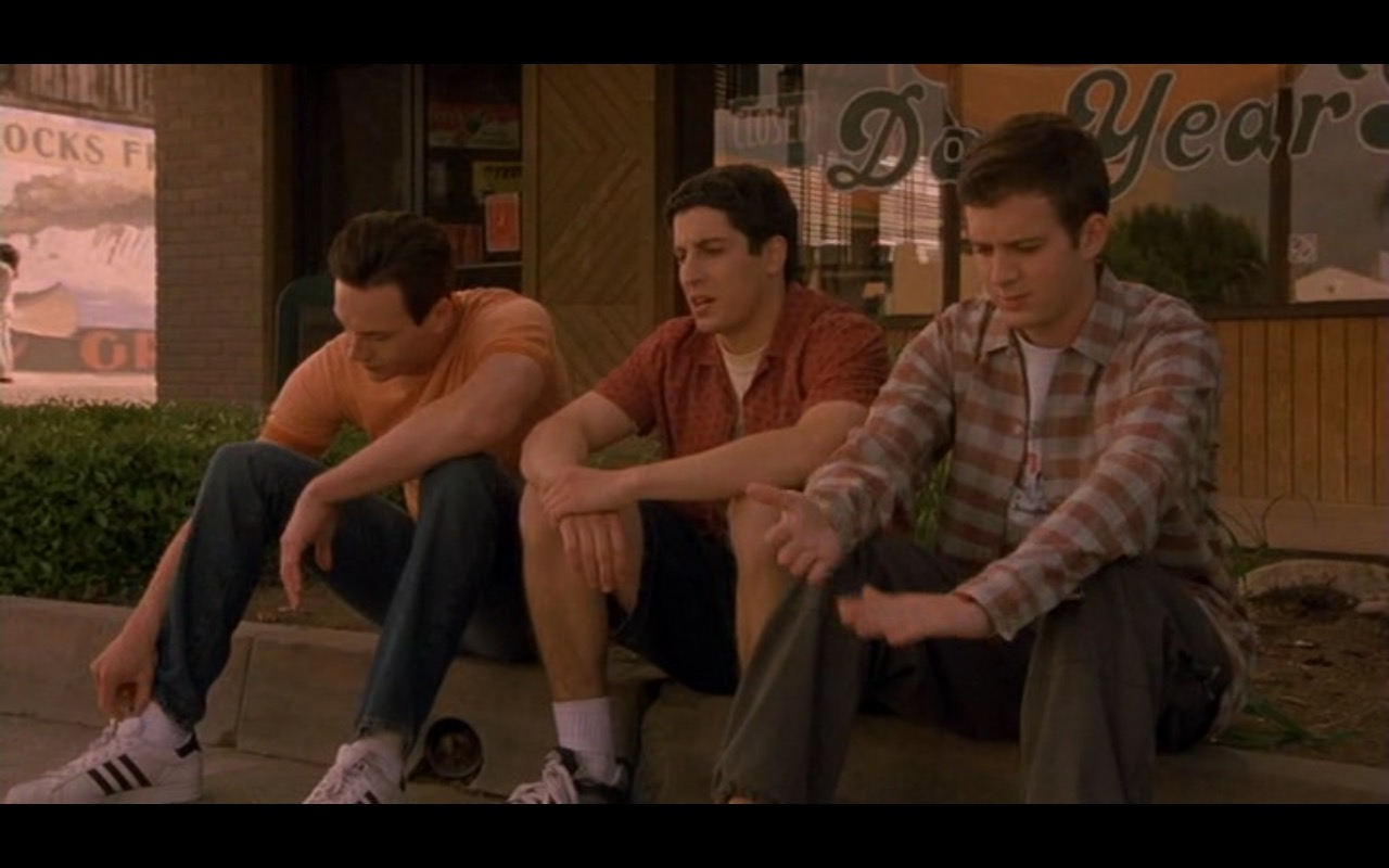 Adidas Men's Sneakers - American Pie 2 (2001) - Movie Product Placement