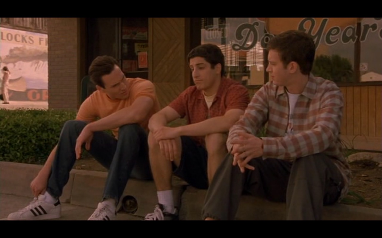 Adidas Men's Sneakers - American Pie 2 (2001) Movie Product Placement