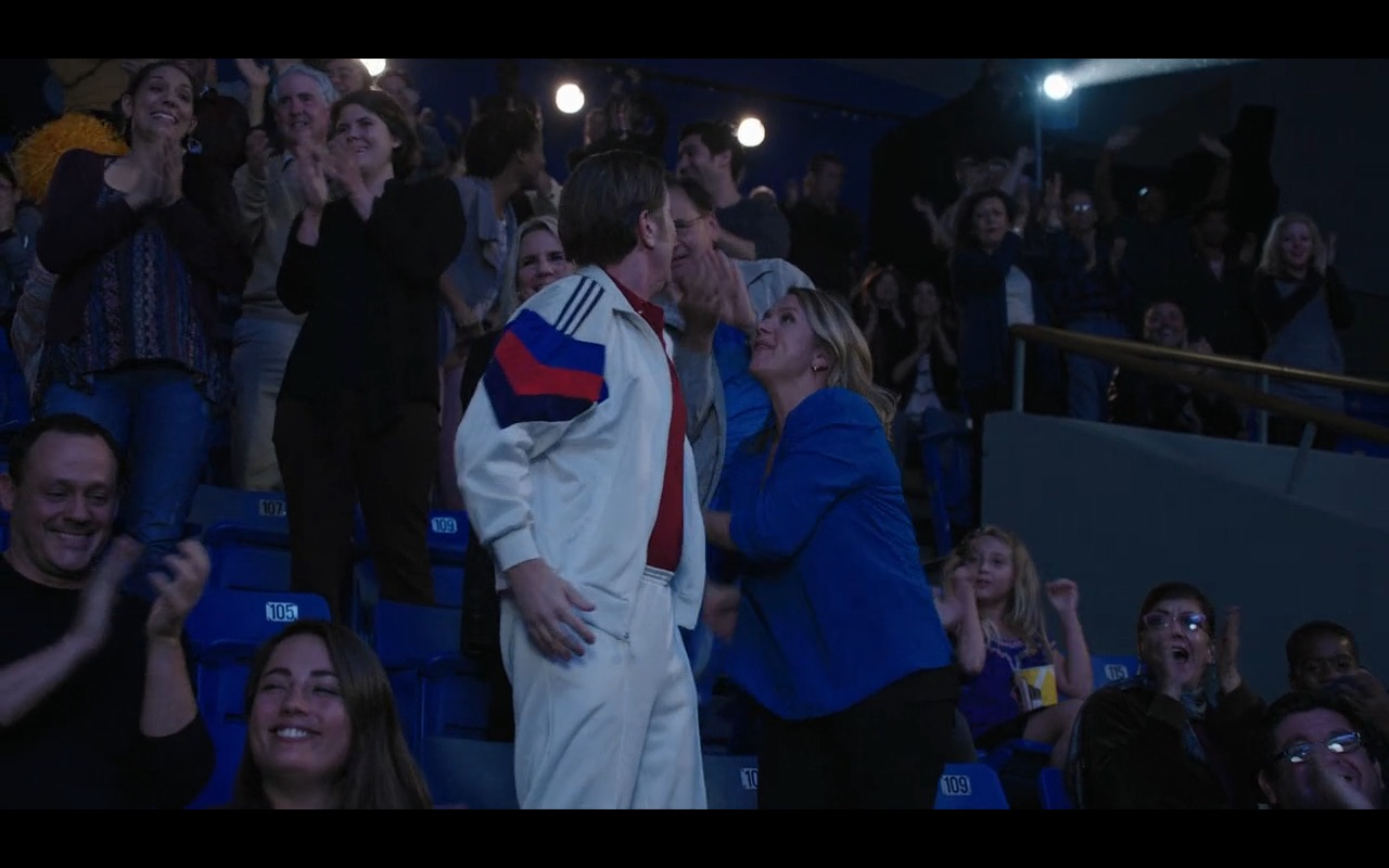 Adidas Men's White Sportswear – Mascots (2016) Movie Product Placement