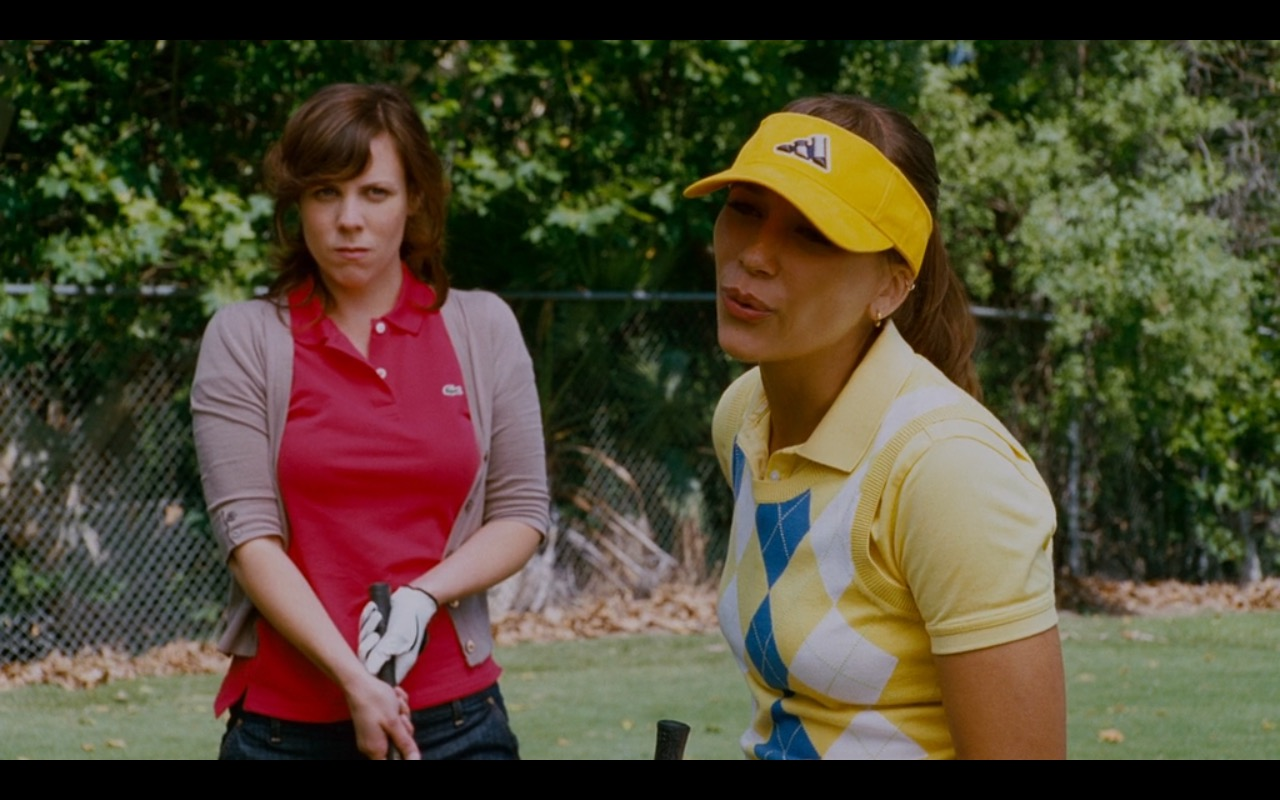Adidas Visor And Lacoste Polo Shirt - I Love You, Man (2009) - Movie Product Placement