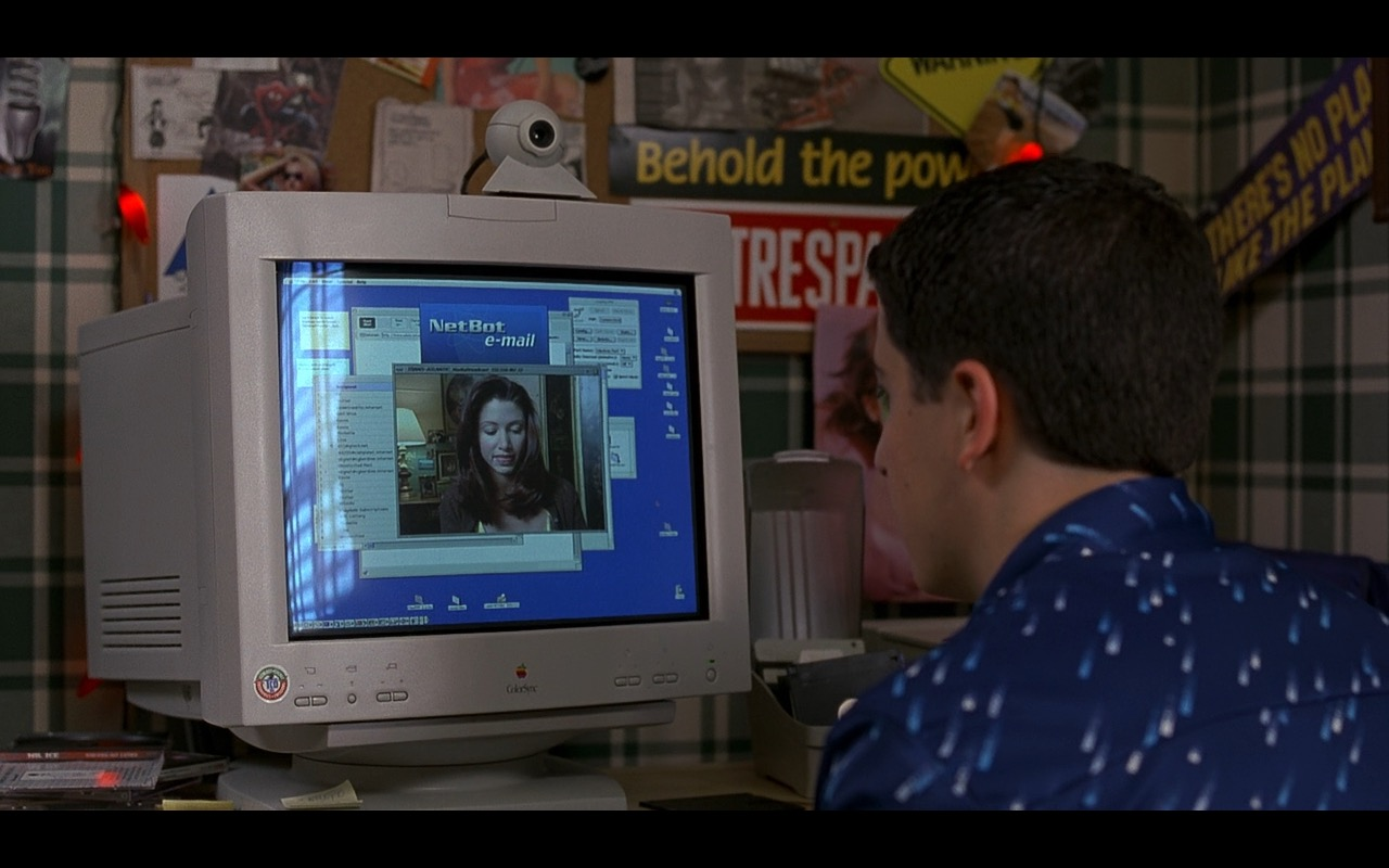 Apple Colorsync Monitor - American Pie (1999) Movie  Product Placement Review