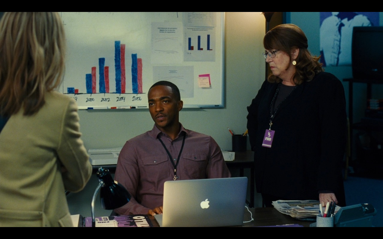 Apple MacBook Pro 15 – Our Brand Is Crisis (2015) - Movie Product Placement