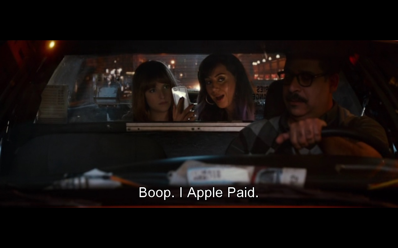 Apple Pay - Mike and Dave Need Wedding Dates (2016) Movie Product Placement