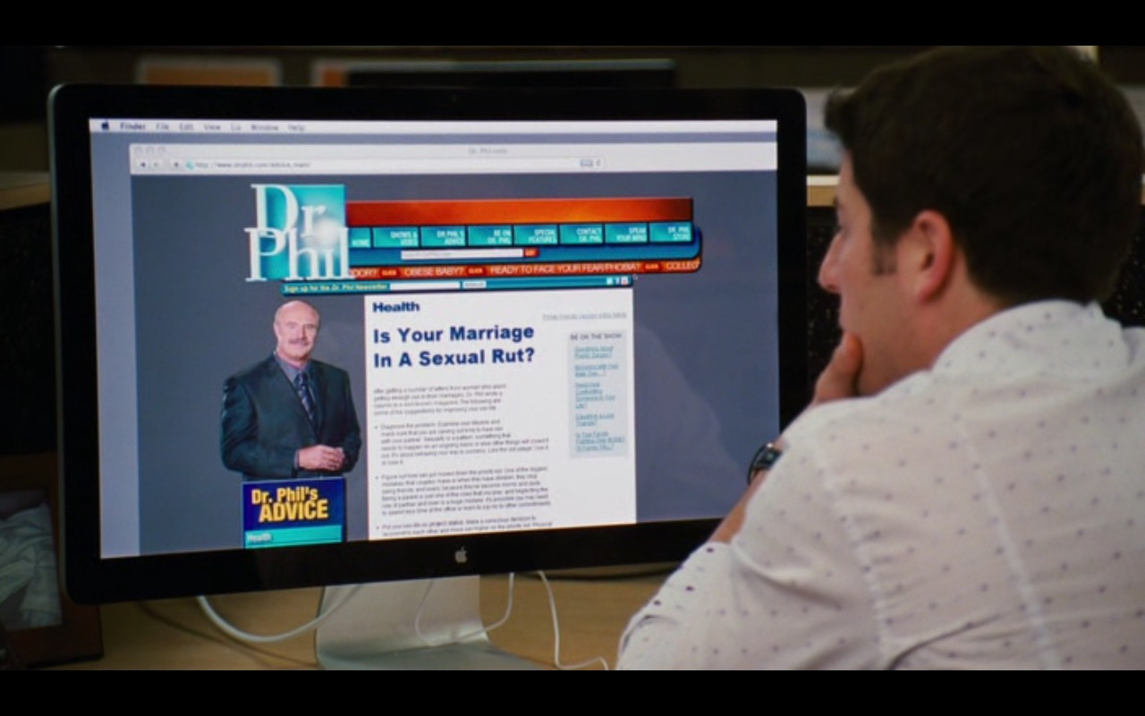 Apple Thunderbolt Display – American Reunion (2012) Movie  Product Placement Review
