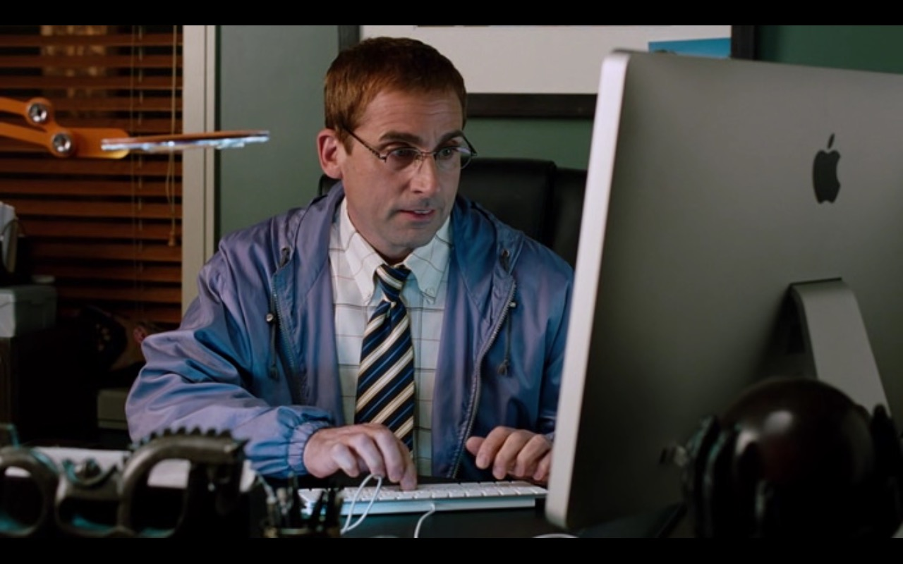 Apple iMac Computer  – Dinner for Schmucks (2010) - Movie Product Placement