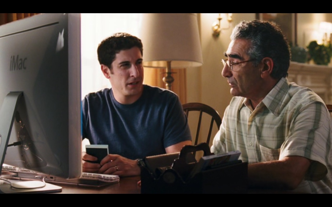 Apple iMac Computer – American Reunion (2012) Movie Product Placement