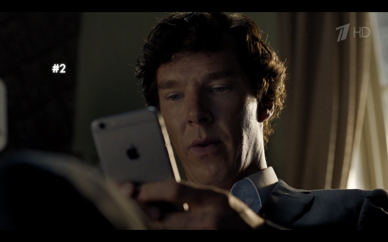 Apple iPhone 6/6s - Sherlock TV Show Product Placement