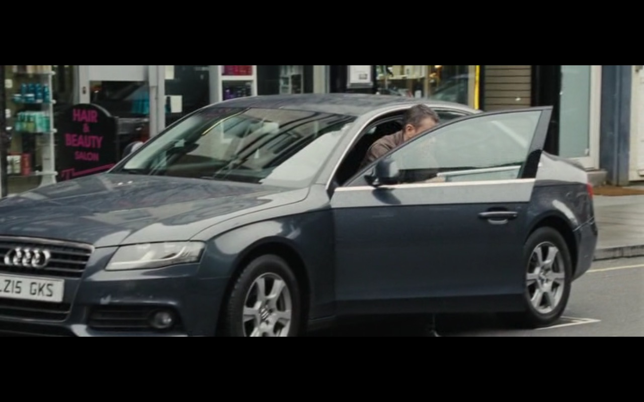 Audi A4 - Jason Bourne (2016) Movie Product Placement