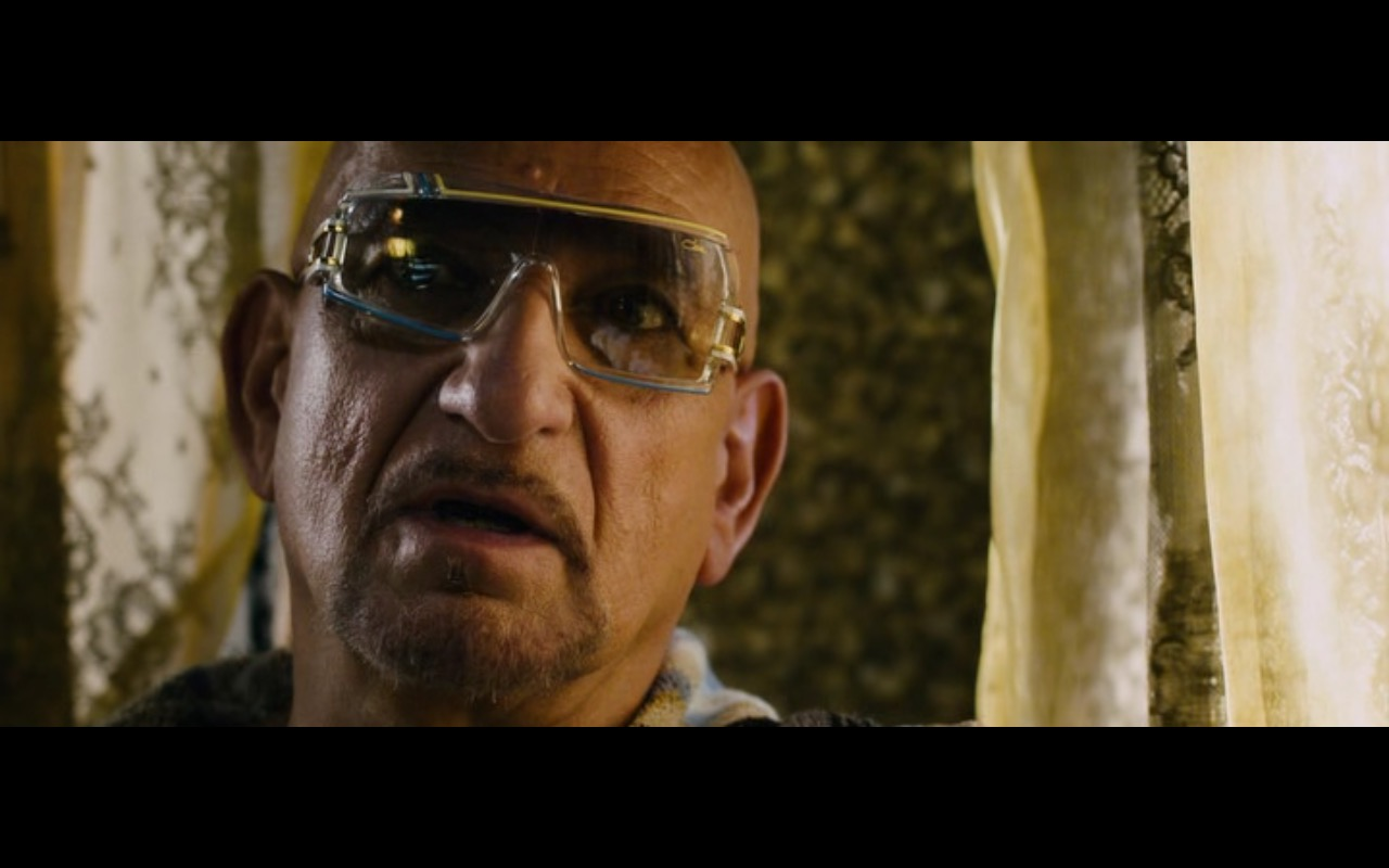 Cazal 858 Sunglasses -  Collide (2016) Movie Product Placement